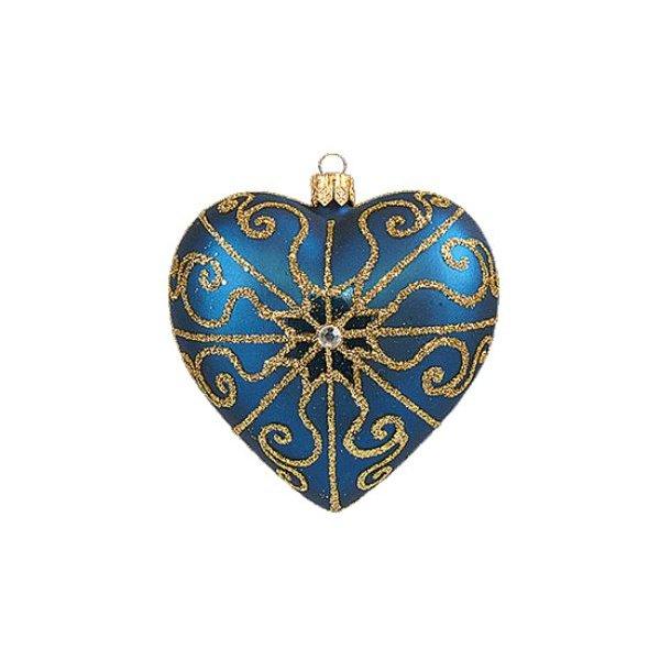 Hjerte, blåt