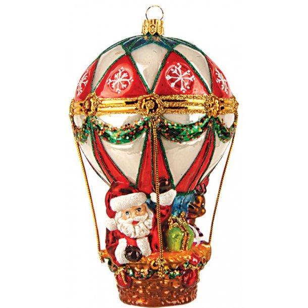 Julemand i luftballon